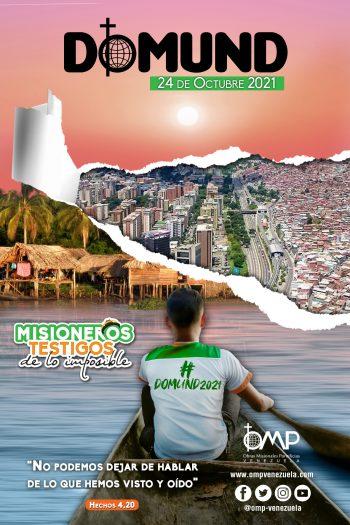 Afiche Domund Venezuela2021