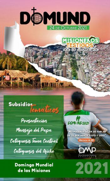 Subsidios temáticos _ Domund 2021